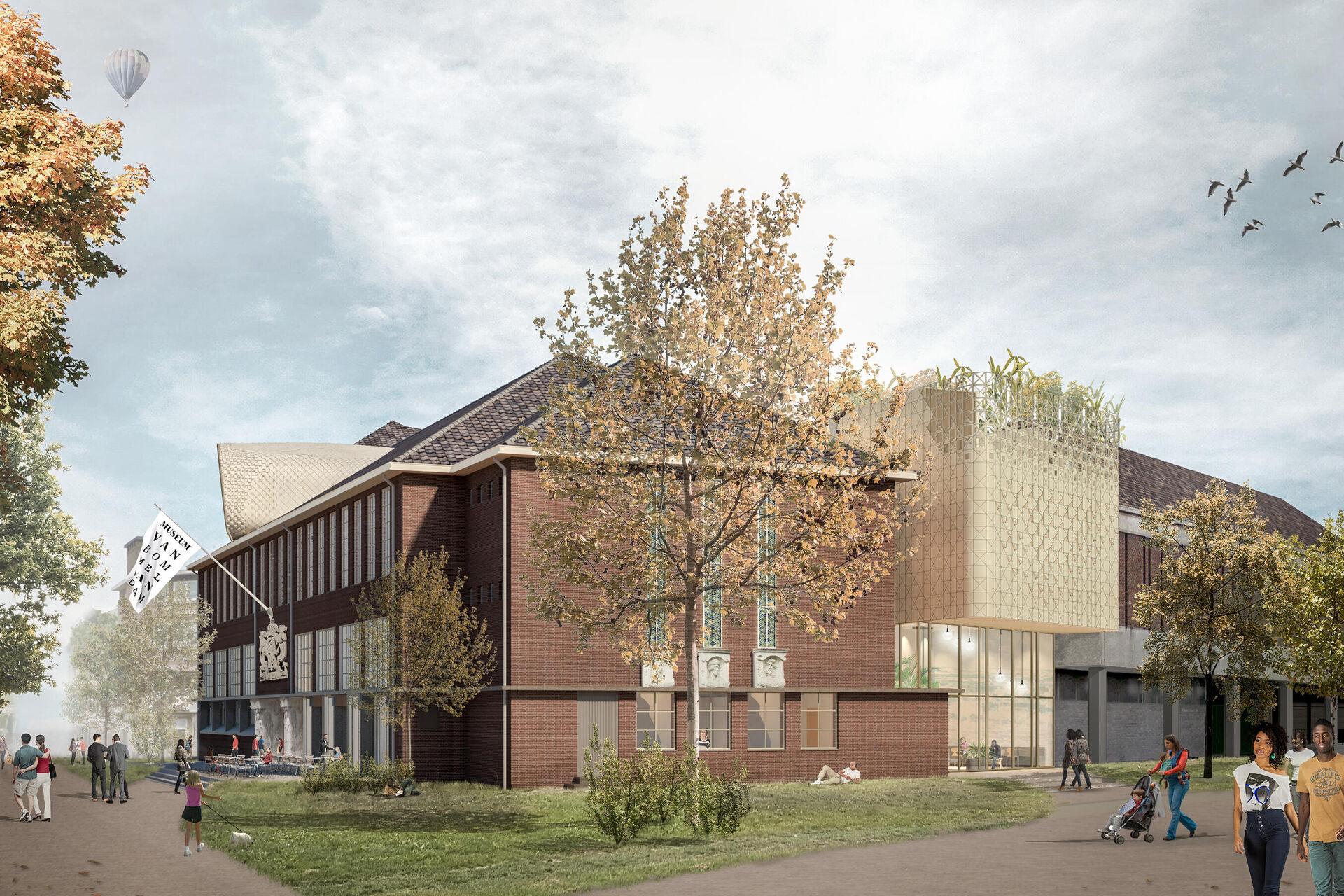 Enthusiastic response to the final design for Museum van Bommel van Dam
