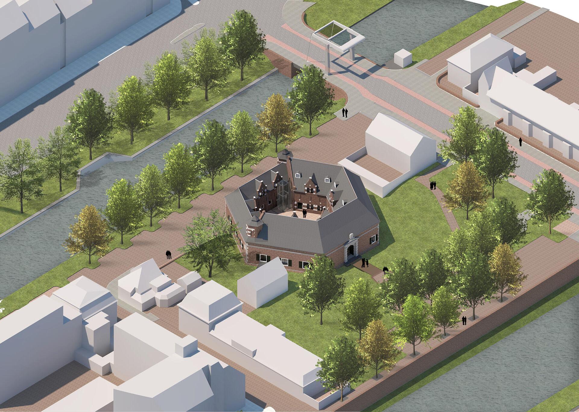 Gemeenteraad stemt in met herbestemming Kruithuis tot vesting- en watermuseum