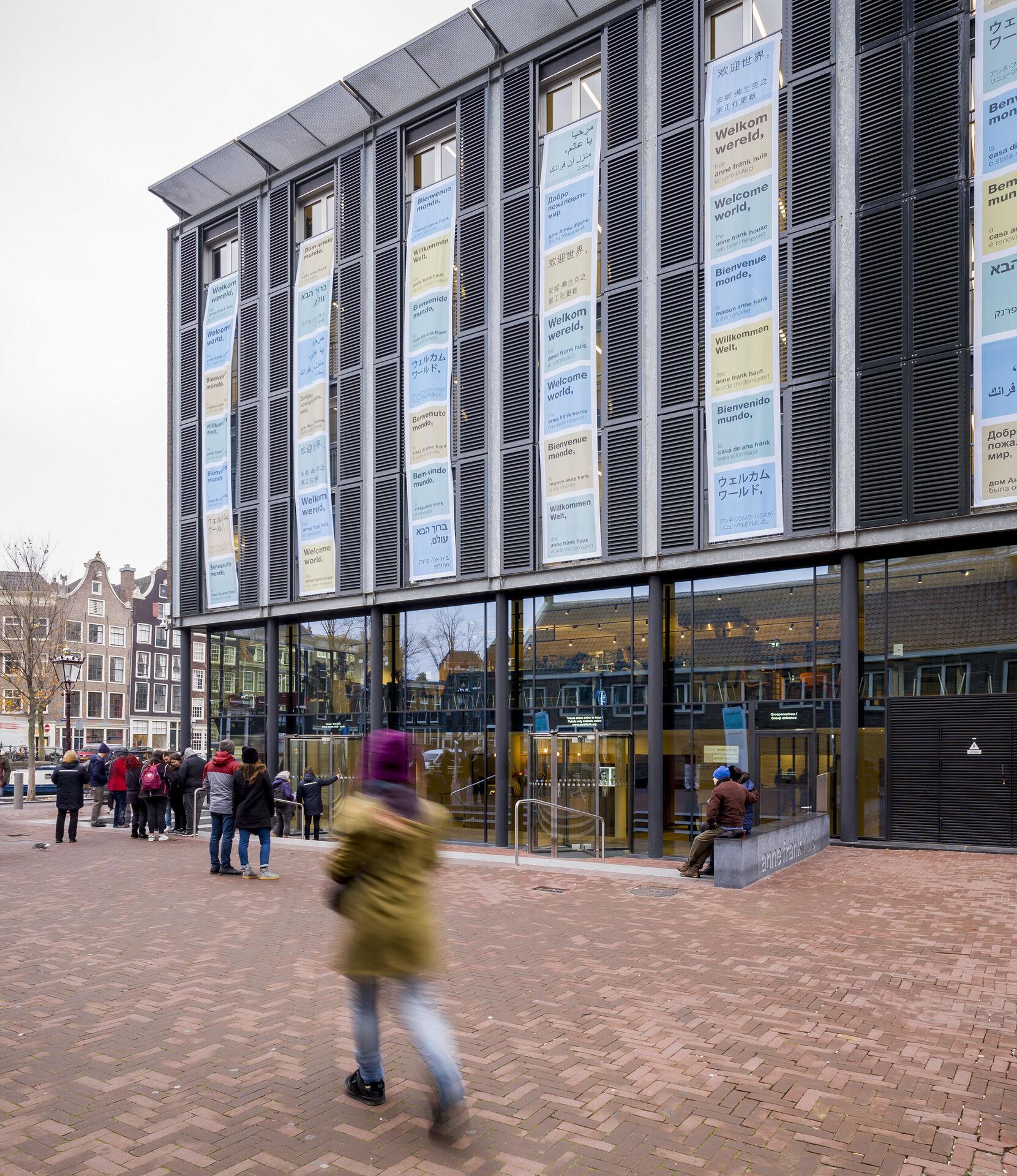 Opening gerenoveerde Anne Frank Huis