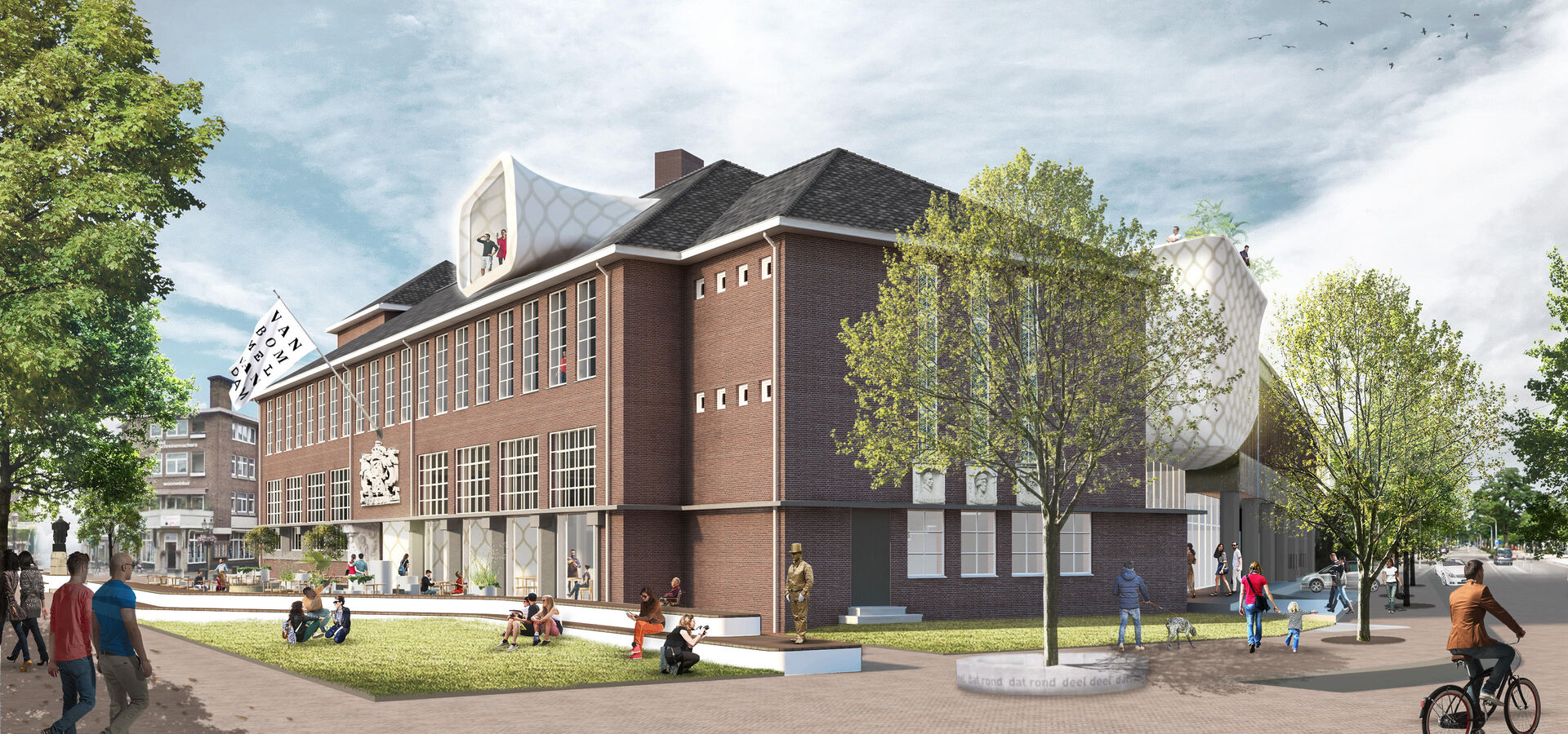 Plannen nieuw Museum van Bommel van Dam gepresenteerd