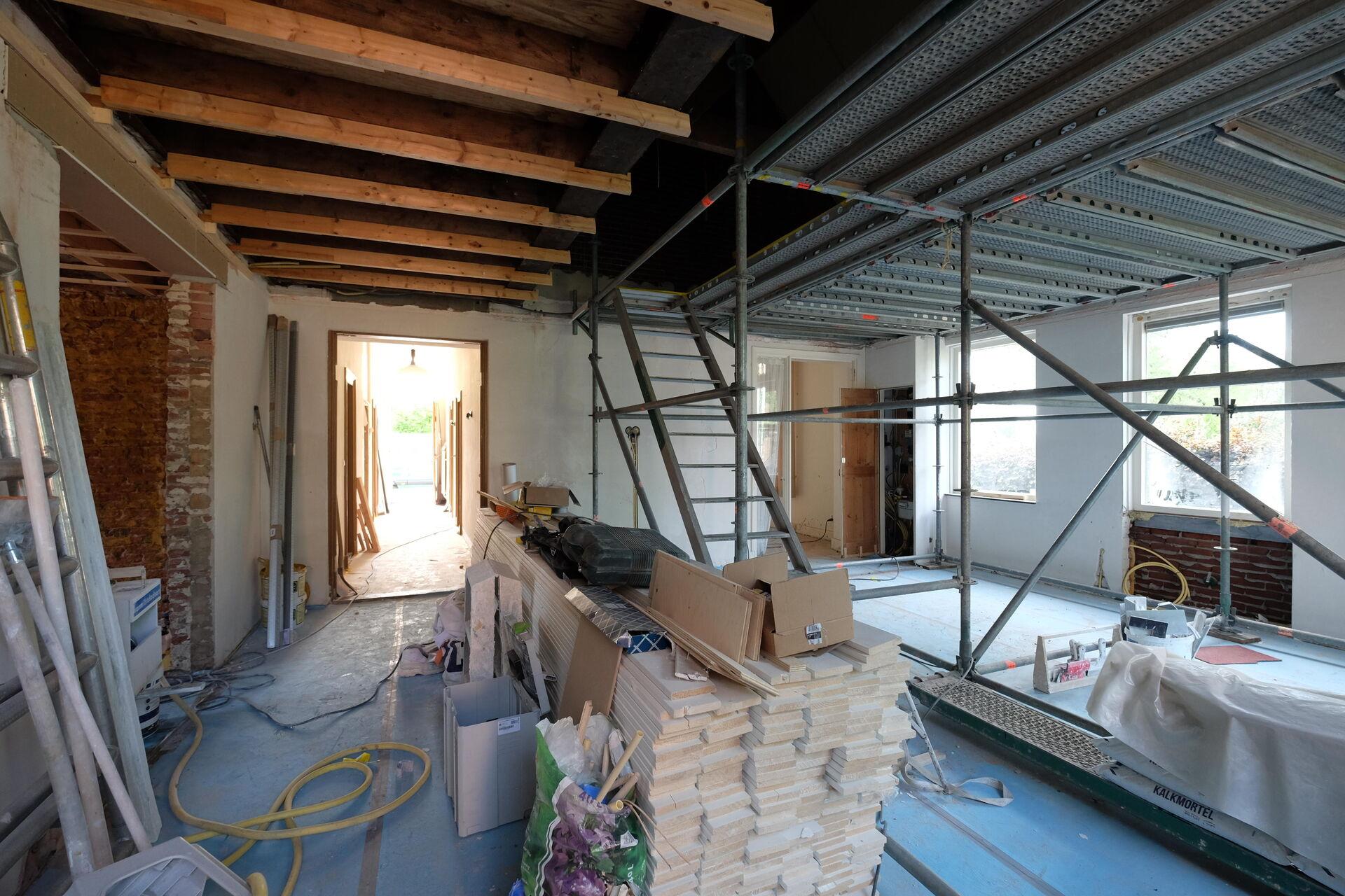 Renovatie en verduurzaming pastorie in uitvoering