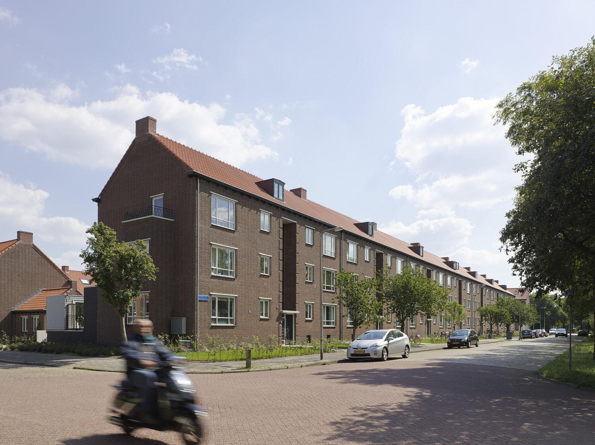 Renovatie woningen Simon van Slingelandtplein