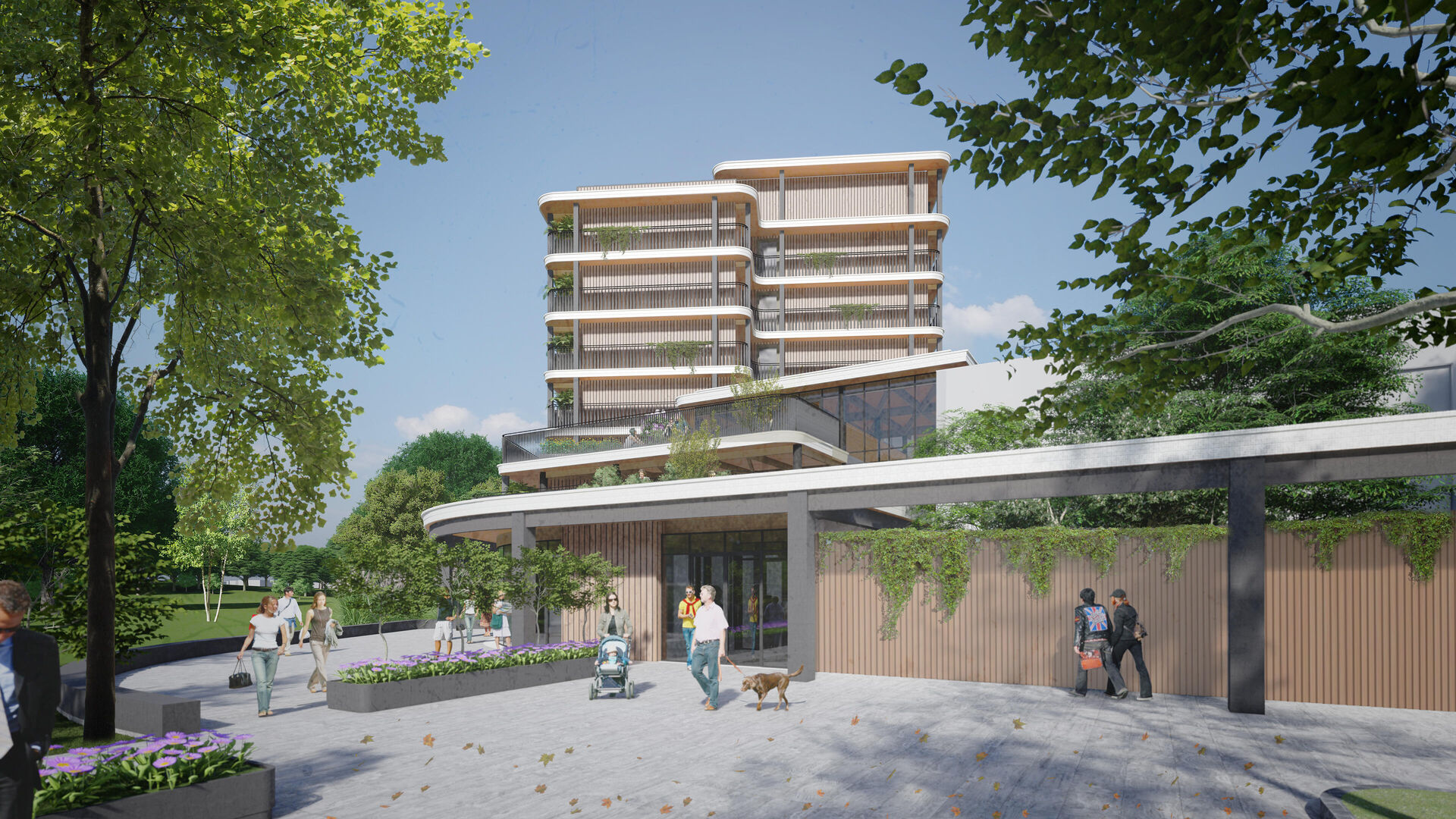 Start final design of the sustainable residential tower Laarstede Tilburg