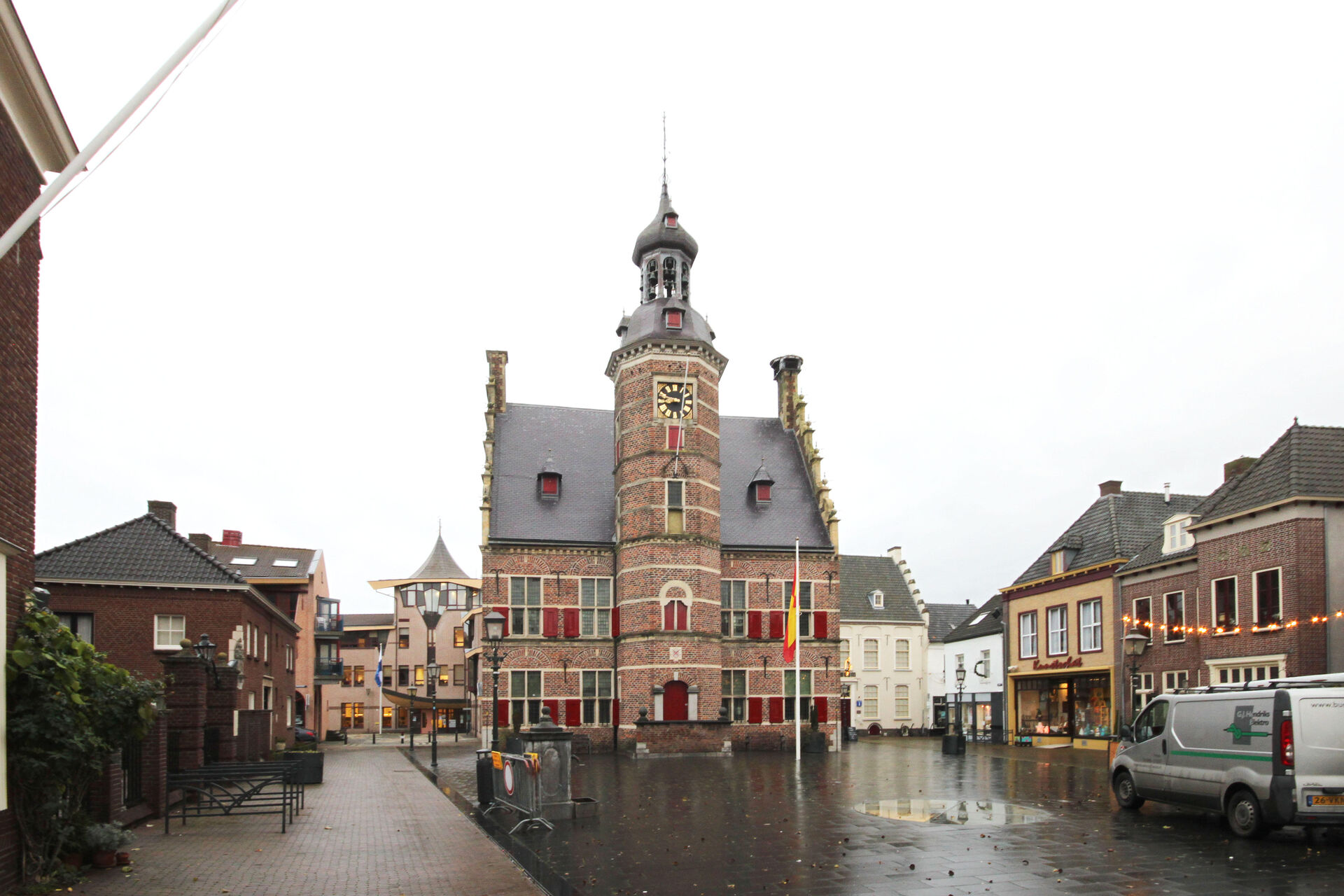 The restoration of Gennep Town Hall is completed