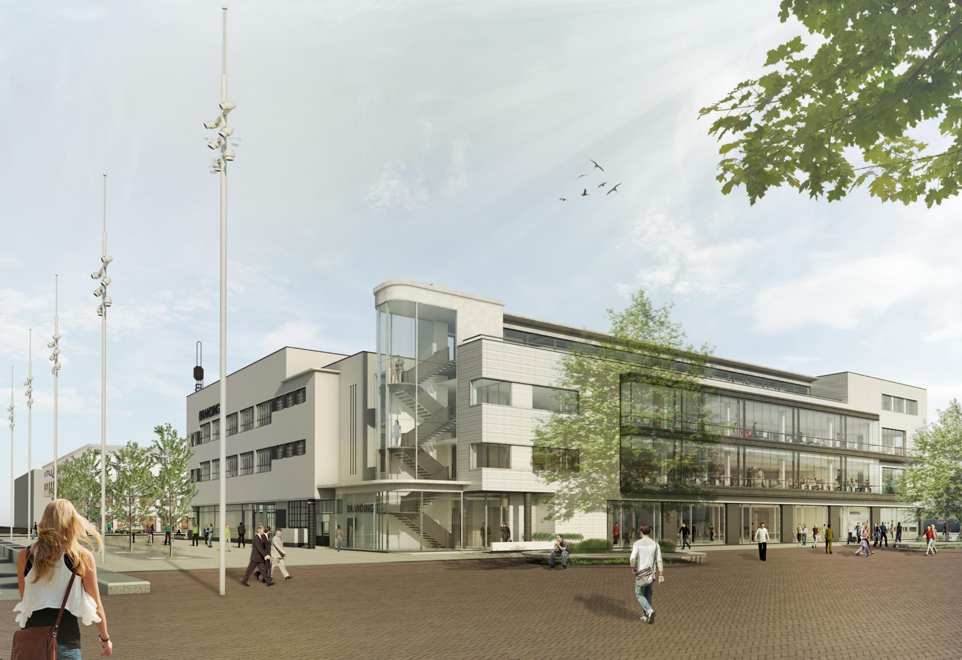 Transformatie Citroëngebouw Zuid