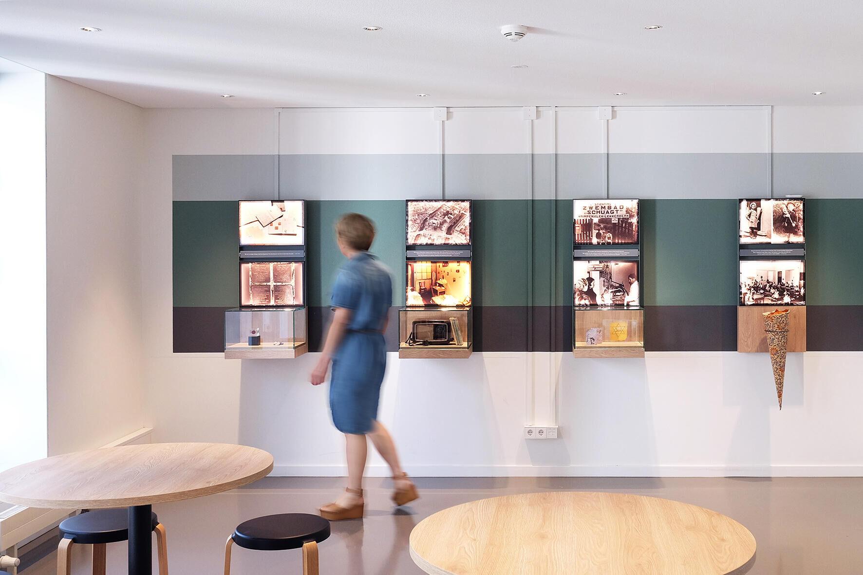 Vernieuwde educatieve ruimten Anne Frank Huis