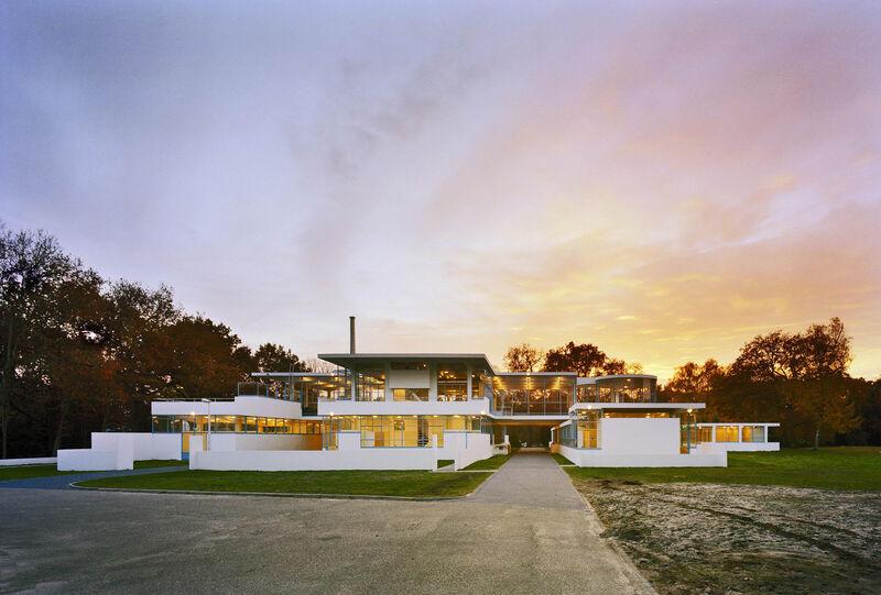 Zonnestraal - Hoofdgebouw, werkplaats, Dresselhuis paviljoen